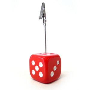 Dice Bingo Ticket Admission Holders