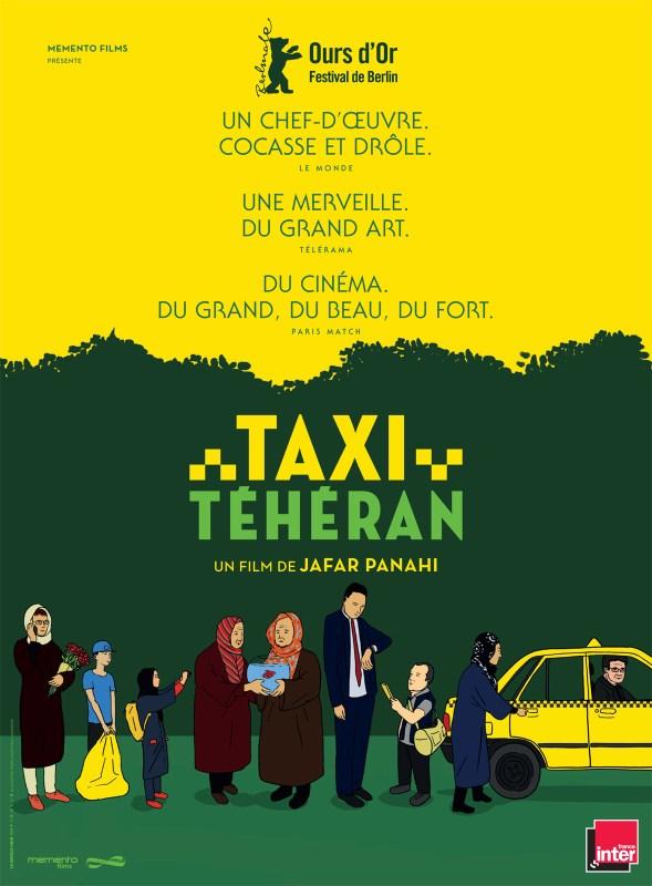 Affiche du film Taxi Téhéran