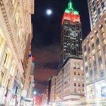 Empire State Building night view