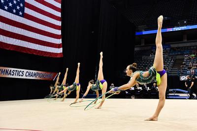 USA Gymnastics: June 30 - Elite Competition Day 2 &emdash; Baltovick-Bourand- Dragunas-Du-Merenzon-Slad