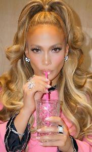 Jennifer Lopez Le Celine Lashes