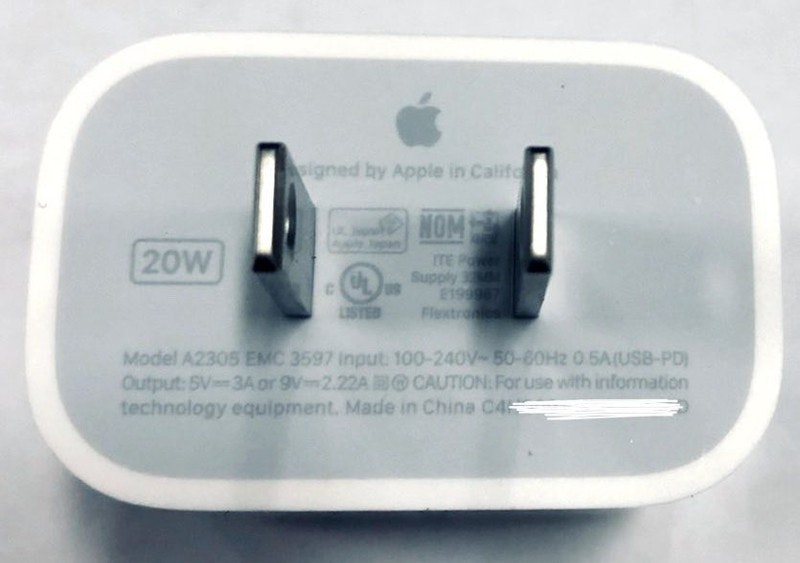 Samsung makes fun of Apple because of the saved power supply unit