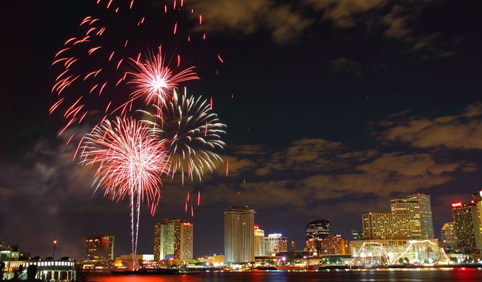 New Year's Eve in New Orleans