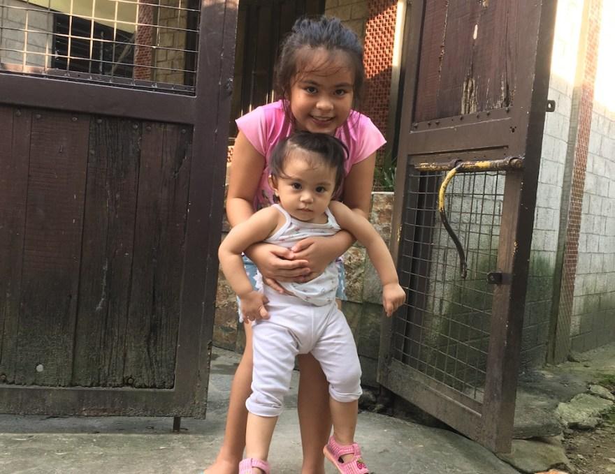 フィリピンの女の子