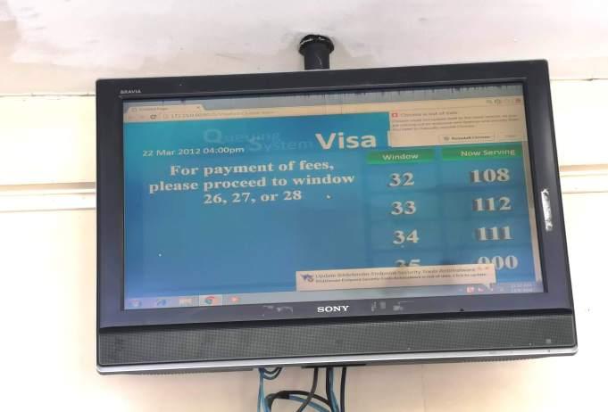 フィリピンの観光ビザの延長申請方法・モニター