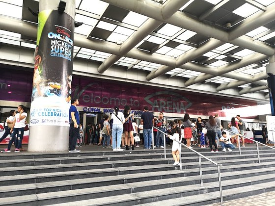 Mall of Asia ARENAのエントランス