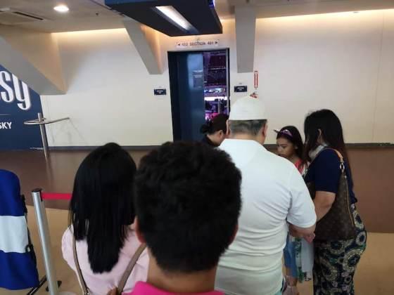 Disney on ice in Mall of Asia ARENAのセキュリティ