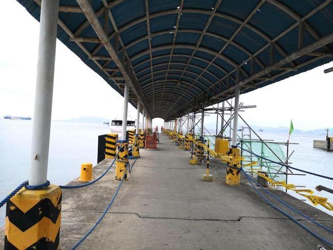 バタンガスターミナル3の桟橋