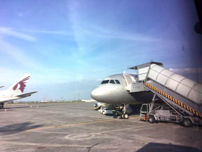 Clark国際空港の飛行機