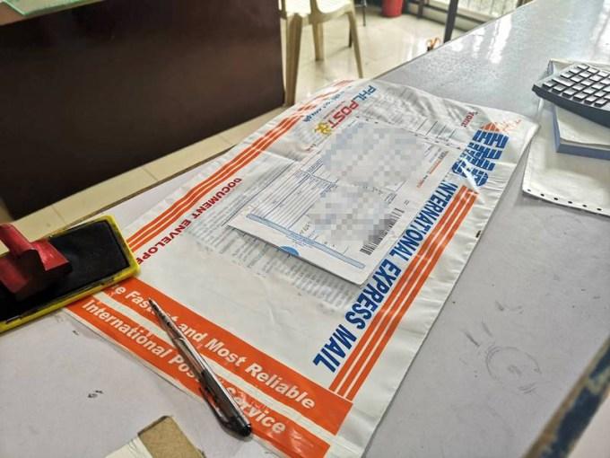 フィリピンのEMSの袋