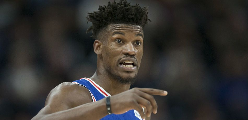 Philadelphia's Jimmy Butler in a recent game