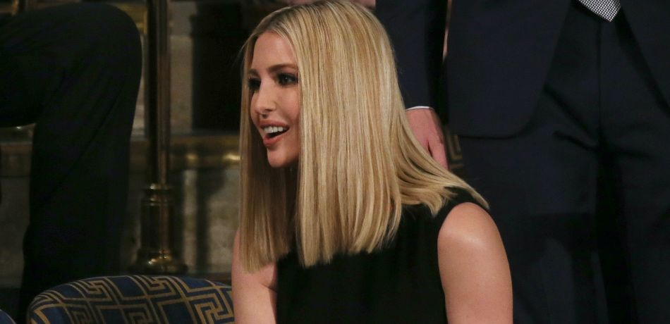 Ivanka Trump attends the State of the Union address