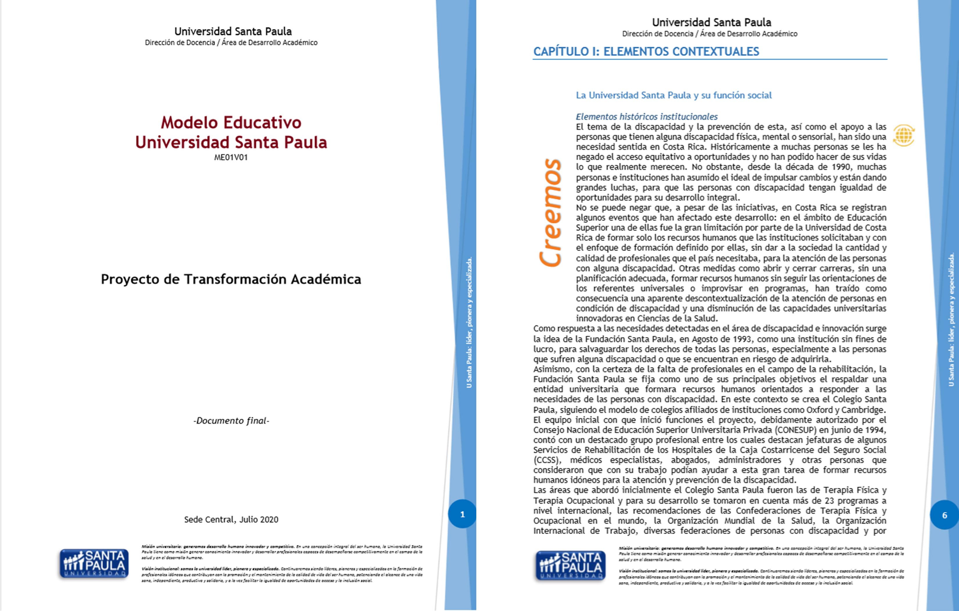 En este momento estás viendo Actualización del Modelo Educativo en U Santa Paula: una oportunidad para la transformación académica y el aprendizaje con visión de futuro.