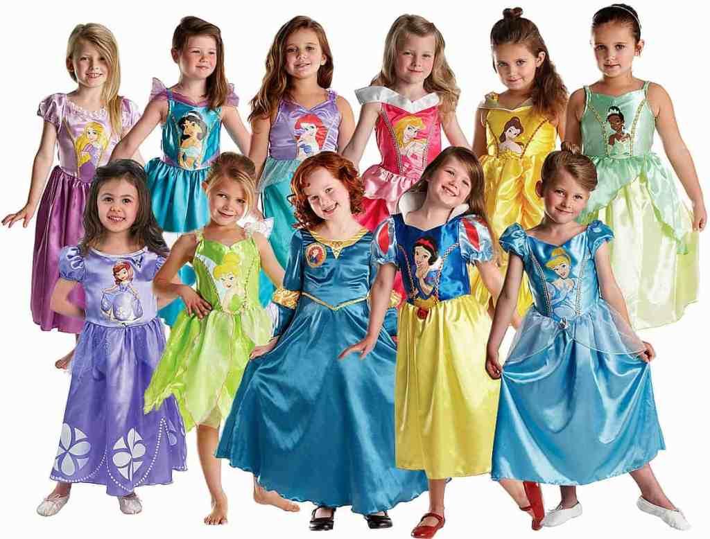 Платье принцессы для девочки из Америки
