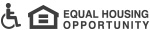 ADA and Equal Opportunity Housing logos