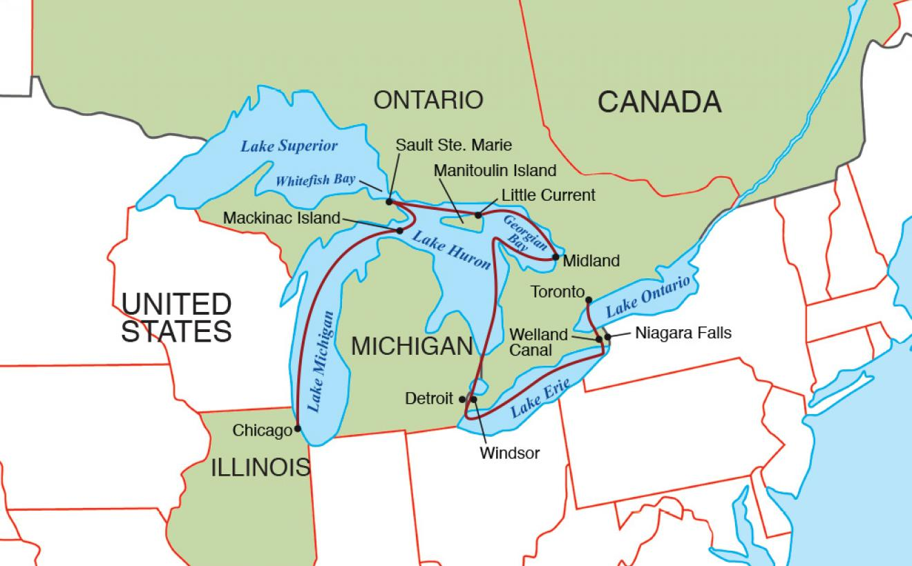 Great Lakes Grand Discovery Usa River Cruises Official Site