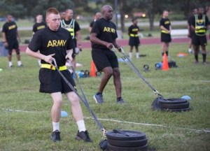 New Army Physical Fitness Test Event - Sprint drag carry