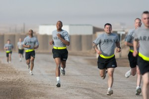The New Army Physical Fitness Test