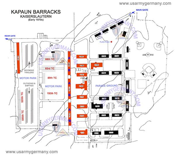 Map Of Vilseck Germany Army Base.Vilseck Germany Army Base Map