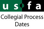 USFA Events - Collegial Process Dates