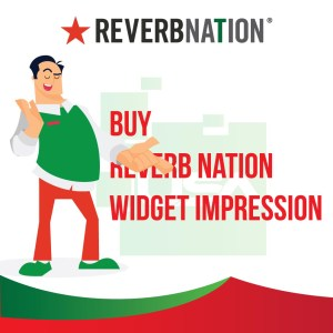 Buy ReverbNation Widget Impression