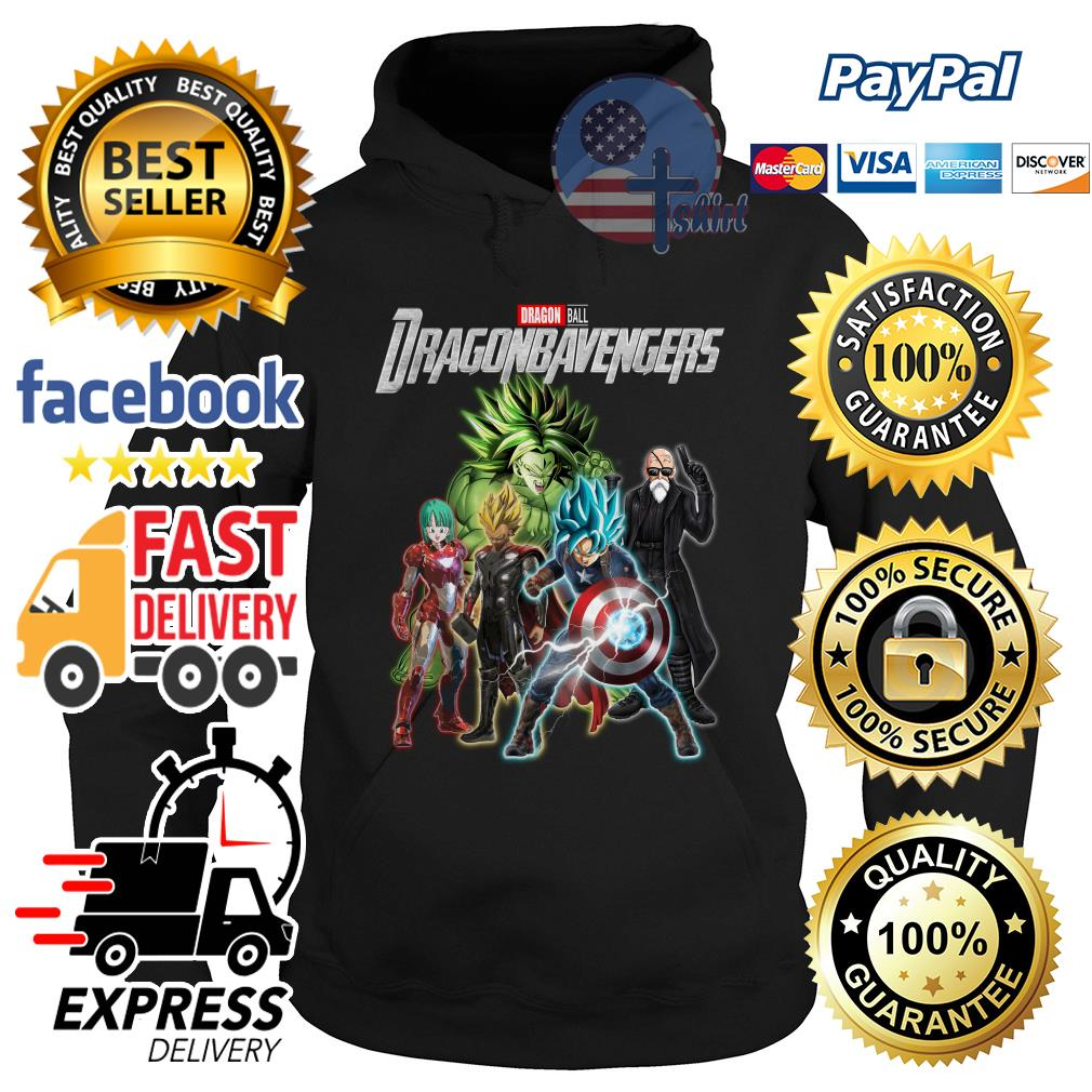 Dragon ball Dragonbavengers Avengers Endgame Hoodie