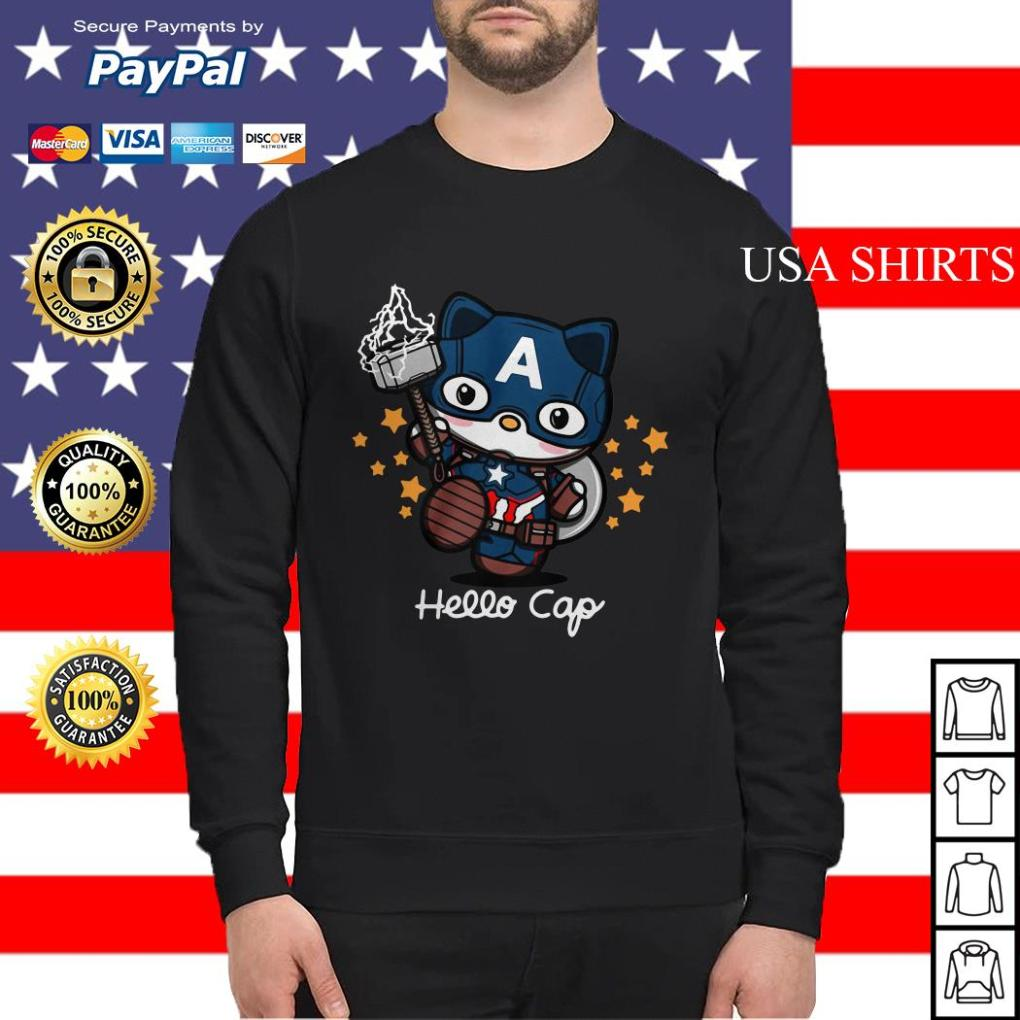 Hello Kitty Captain America Sweater