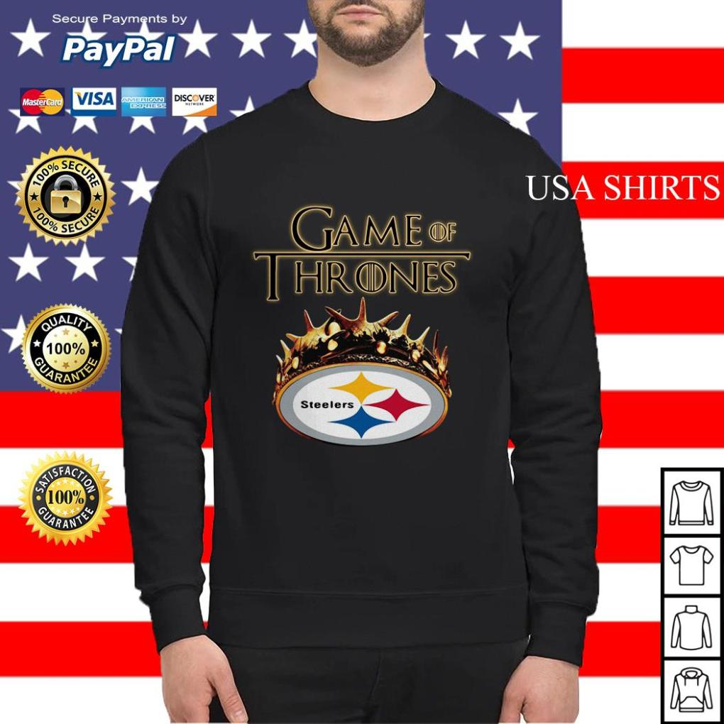 Pittsburgh Steelers Game of Thrones Crown Sweater