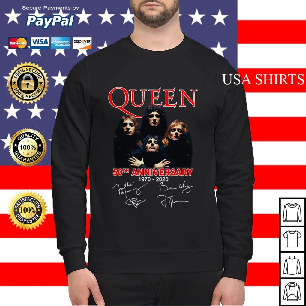 Queen 50th anniversary 1970 2020 Sweater