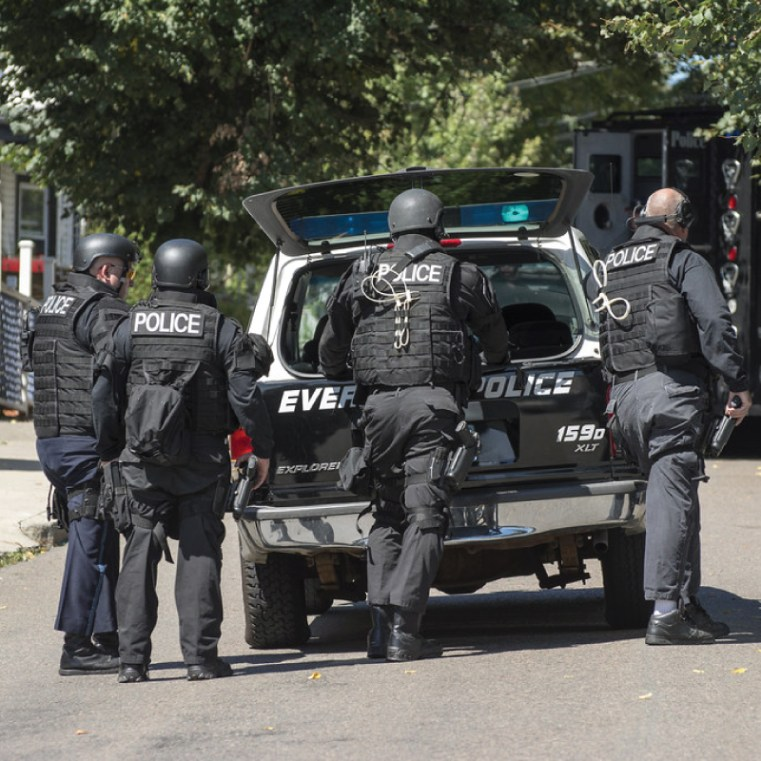 Track Box Assists with Connects Swat Teams