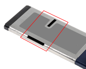 ExpressCard Stuck in Cradlepoint Routeg