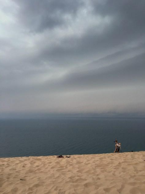 Storm Rising Over Sleeping Bear Dunes National Lakeshore, MI. www.usathroughoureyes.com
