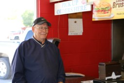 Larry at the DQ, Cando, ND www.usathroughoureyes.com