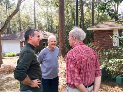 Tom, John and Bob Sharing Stories. www.usathroughoureyes.com