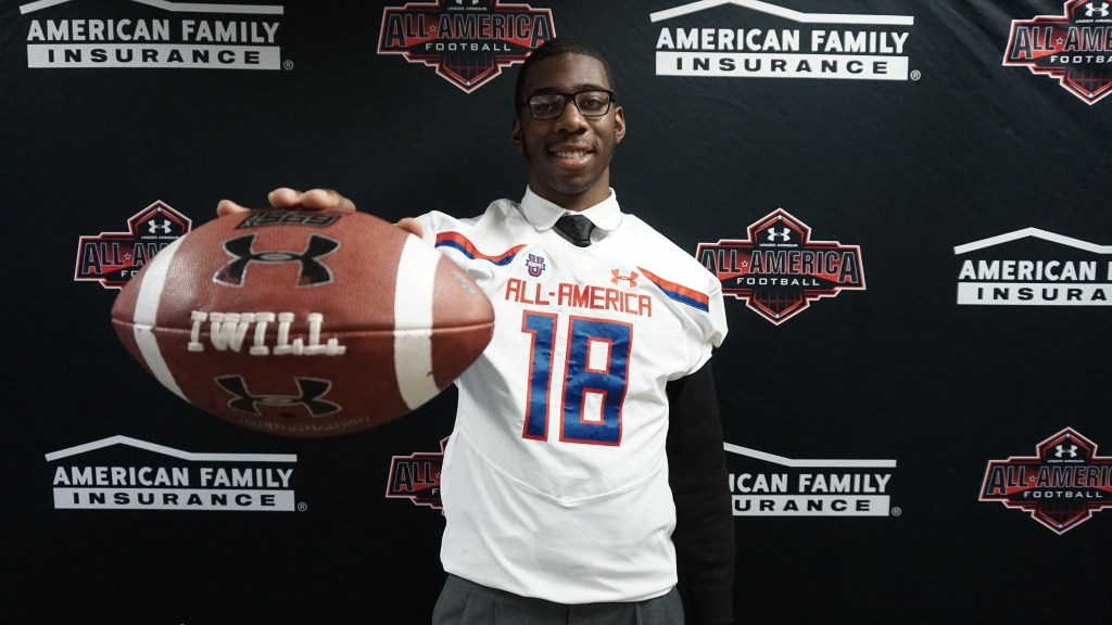 Men's nike game jerseys fit true to size. Florida commit Kyle Pitts receives honorary Under Armour ...