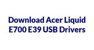 Acer Liquid E700 E39