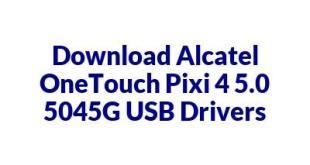 Alcatel OneTouch Pixi 4 5.0 5045G