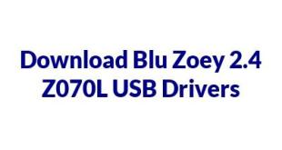 Blu Zoey 2.4 Z070L