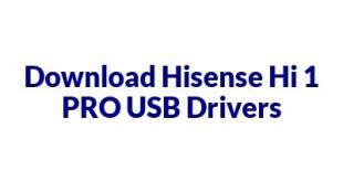 Hisense Hi 1 PRO