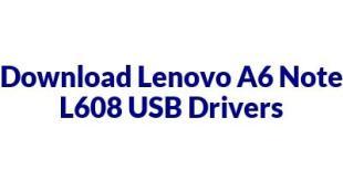 Lenovo A6 Note L608