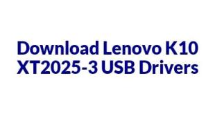 Lenovo K10 XT2025-3