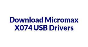 Micromax X074