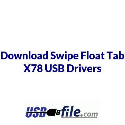 Swipe Float Tab X78