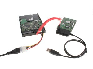 USB 20 to SATA  IDE Cable (Without Power Adapter)