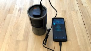Novoo 85W AC Portable Power Station with Moto G6