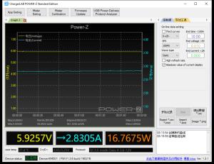 Solice 20000 Type-C - Moto G6 power meter (QC)