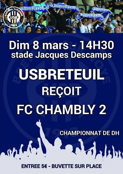 DH Breteuil Chambly 8 mars 15