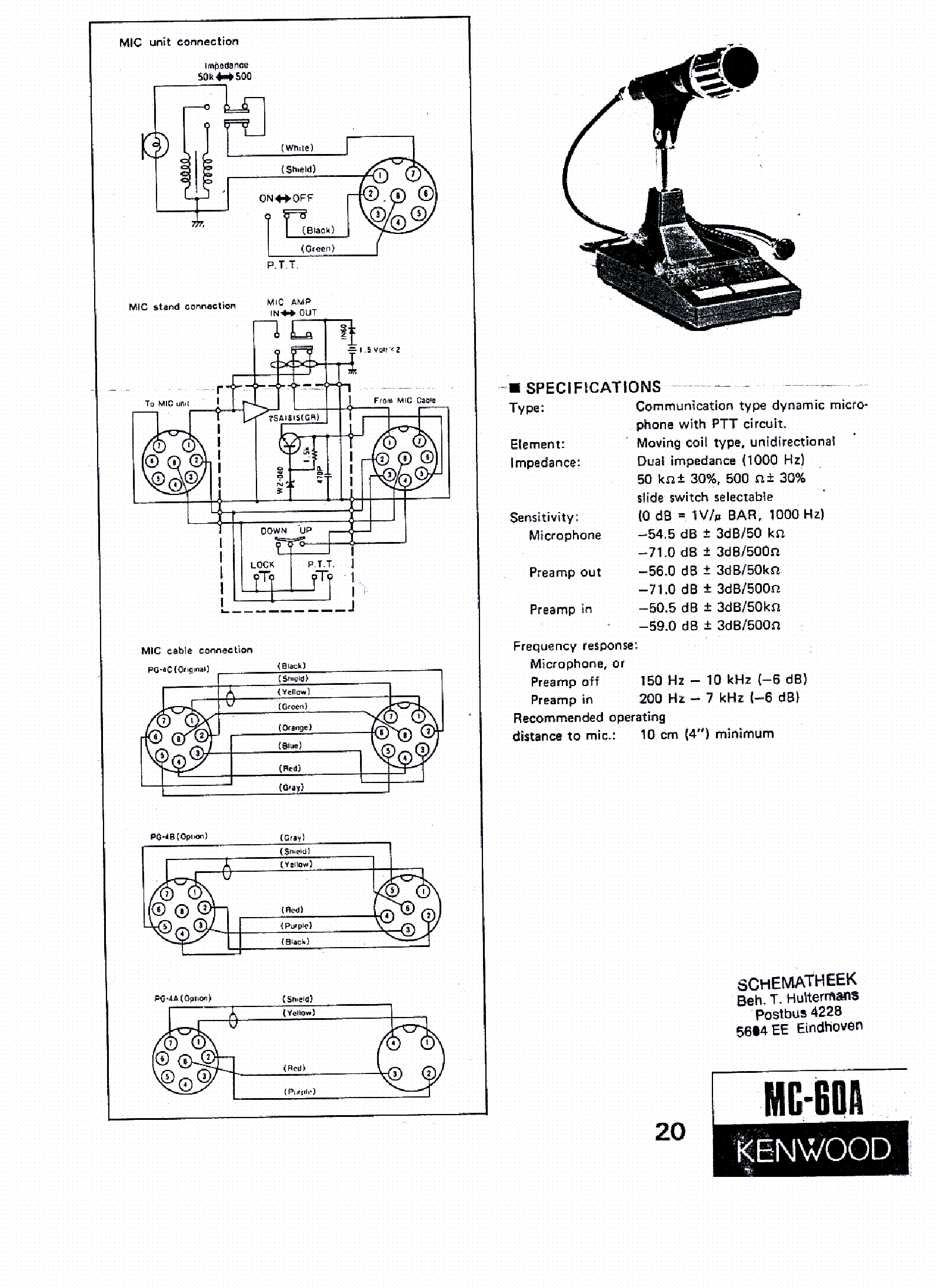 Cb Radio Mic Wiring Kenwood Mc 60 Manual E Books