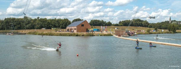 photo of The-Spin-cable-park-wakeboard-lacs-de-leau-dheure