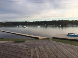 Wakeway cable wake park in Lithuania